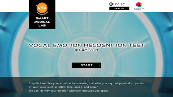 Vocal Emotion Recognition Test by Empath