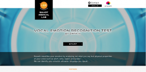 Smartmedical's new website is offering Web Empath API, which provides developers with simple access to its vocal emotion recognition technology.